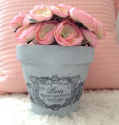 DIY French Flower Pot - Reader Featured Project