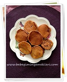 Baby Food Recipes, Pancakes, Muffin, Food And Drink, Tart, Breakfast, Recipes For Baby Food, Breakfast Cafe, Cake