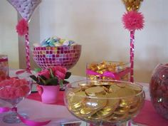 Fuchsia Pink Candy Bar at the Millennium Stadium