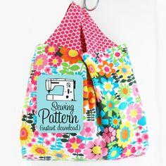 Grocery Bag PDF Sewing Pattern / michellepatterns