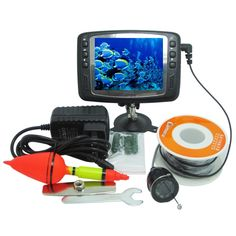 "149.67$  Watch here - http://aifb5.worlditems.win/all/product.php?id=32741237559 - ""30 Meters Depth Fish Finder with Floating Assembly & 600TVL Underwater Camera & 3.5"""" Digital LCD Monitor Support 11 Languages"""
