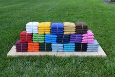 Cornhole Boards BAGS  Corn Toss  Bag Toss  by RusticRoadDesignsInc