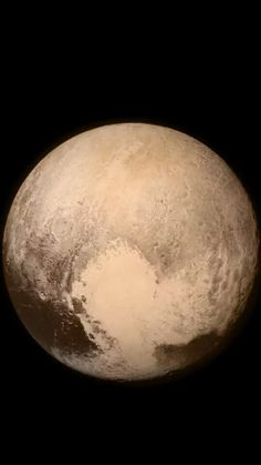 Pluto from New Horizons spacecraft - 07/14/2015