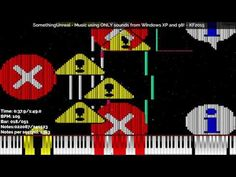 [Black MIDI] SomethingUnreal - Music using ONLY sounds from Windows XP and 98! 141K Notes ~ KF2015 - YouTube Windows Xp, Original Song, Notes, Music, Youtube, Movie Posters, Black, Musica, Report Cards