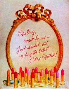 Lipstick ad, ca. 1950