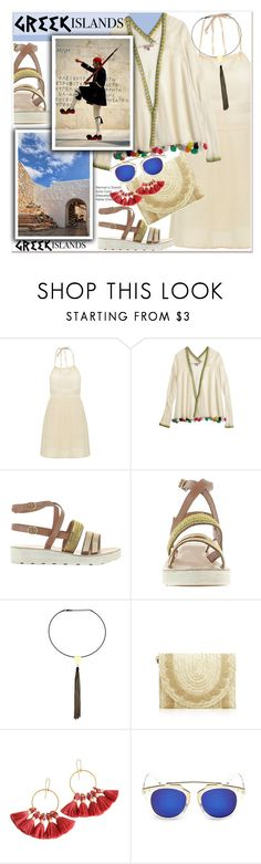 """Pack and Go: Greek Islands"" by paculi ❤ liked on Polyvore featuring Calypso St. Barth, Packandgo and greekislands"