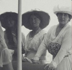 Marie, Olga and the Queen of Romania