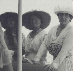 Maria, Olga and Marie, Queen of Romania