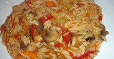 Υλικά Διάφορα λαχανικά όπως μελιτζάνα, μανιτάρια, πιπεριές πολύχρωμες, καρότο, κρεμμύδι ψιλοκομμένο και ότι άλλο λαχανικό μας αρέσει, κομμέν... Cabbage, Grains, Food And Drink, Cook, Vegan, Vegetables, Recipes, Cabbages, Korn
