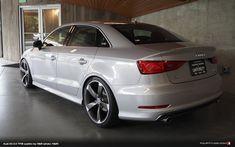 Aggressiv Rs3 Front Bumper Grille Mesh Style Chrome Trim Audi