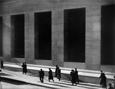 Paul Strand - Wall Street,, New York City,1915 Amazing he captured the emotion of the crash years before it occurred.