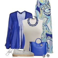McQueen Top + Pucci skirt by dgia on Polyvore featuring moda, Stefanel, Alexander McQueen, Emilio Pucci, STELLA McCARTNEY, Furla, Chaps and Blue Nile