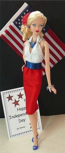 Happy Independence Day Barbie ...