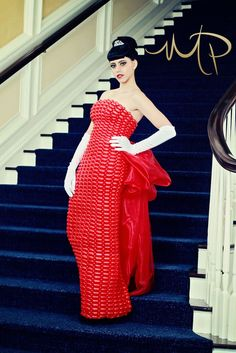 One of a kind, custom made balloon dresses.  Model:  Brooklyn Guillen  Photographer:  MagPie Photography