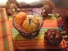 Thanksgiving Turkey Display