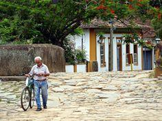 Cotidiano em Tiradentes (Foto: César Reis)