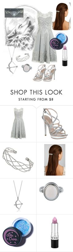 """""""Artemis-Inspired"""" by nyxtears ❤ liked on Polyvore featuring Monsoon, Pelle Moda, Wallis, Jennifer Behr, BERRICLE, Lime Crime and Revlon"""