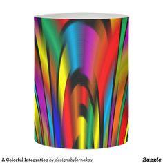 A Colorful Integration Flameless Candle #candle #flamelesscandle #homedecor #colorful #blended #ribbonlike
