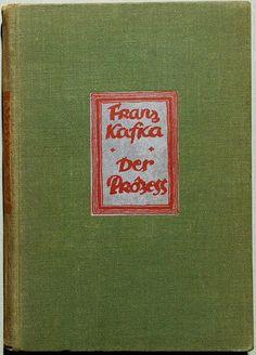 Franz Kafka: A per (Der Process).Die Schmiede, Berlin, 1925