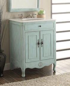 """26"""" Cottage Style 2 doors Daleville Bathroom Sink Vanity - 838LB - Chans Furniture - 1"""