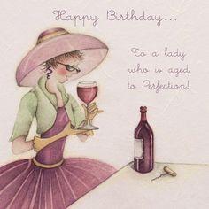 Para una mujer que se envejece a la perfección by Berny Parker