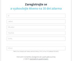 #alveno #registrace Vyzkoušejte Alveno zdarma na 30 dní.