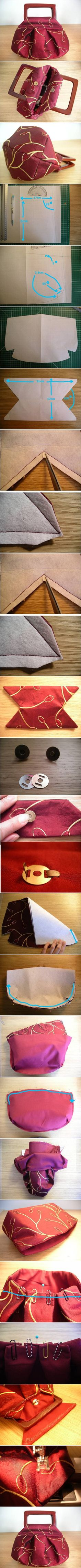 DIY Cute Fashionable Handbag Follow Us on Facebook -->> http://www.facebook.com/UsefulDiy