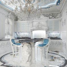15 Essentials to a Luxury Kitchen Luxury Kitchen Design, Luxury Kitchens, Luxury Interior Design, Interior And Exterior, Kitchen Designs, Inspiration Room, Luxury Homes Dream Houses, Luxury Home Decor, Luxury Living