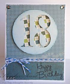 Luv 2 Scrap n' Make Cards: Happy 18th B-Day