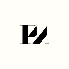PMA Monogram by Richard Baird. (Available). #logo #design #branding
