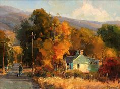 Autumn Light by Kathryn Stats - Greenhouse Gallery of Fine Art