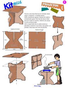 Kit mesa | lisbrasil.com