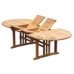 Oval Extanding Table