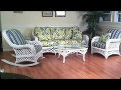 Sunroom Furniture #wicker #movies www.wickerparadise.com