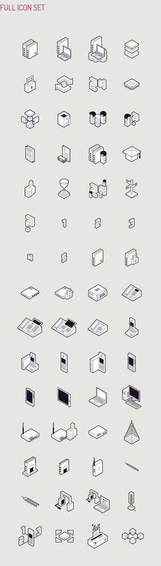 *Isometric Icon Design / Perconte for Datera SA Icon Design, Vector Design, Logo Design, Flat Design, App Design, Coffee Icon, Coffee Cafe, Isometric Design, Simple Icon