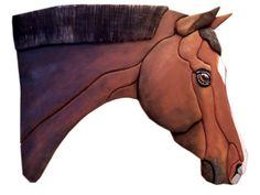 warmblood horse  custom horse portrait  warmblood by TheKraftieKat, $40.00