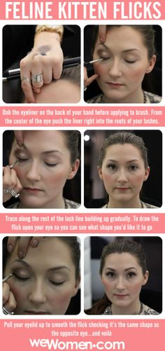 Here's how to do the purrfect cat eye makeup look!