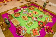 BabyShower Photo By Andy Shah photography Thali Decoration Ideas, Fruit Decorations, Balloon Decorations, Wedding Decorations, Decor Ideas, Baby Shower Decorations For Boys, Baby Decor, Baby Shower Pictures