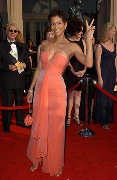 Halle Berry Evening Dress - Halle Berry Looks - StyleBistro