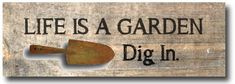 20+ sweet and funny garden sign ideas #spon