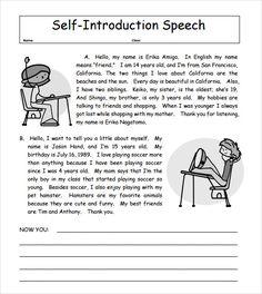 Speech Outline  Templates  School    Outlines School