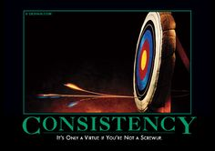 Consistency: It's only a virtue if you're not a screwup.