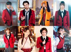 Kakegurui Live Action Reveals Visual With More Characters   MANGA.TOKYO