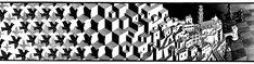 MC Escher Metamorphose I