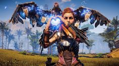 If you haven't picked up Horizon Zero Dawn, maybe this will persuade you. Playstation, Xbox, Horizon Zero Dawn Aloy, Life Is Strange, Horizon Zero Dawn Wallpaper, Beast, Avatar, Love Games, Video Game Art