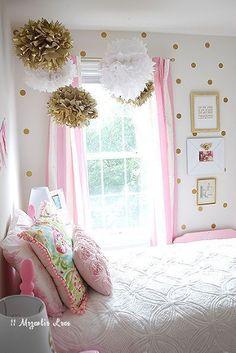 decoracion del cuarto de una nina #decoracioncuartodeniñas
