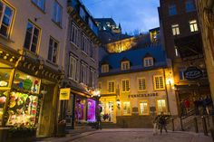 Picture of Lower Vieux-Quebec, Quebec City, Quebec, Canada