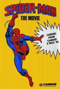 Spider-man The Movie 11x17 Movie Poster (1986)