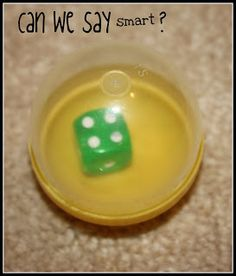 A silent dice roll idea, keeps dice from rolling all over...why didn't I think of this!