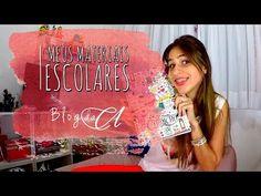 Meus materiais escolares 2015 - YouTube